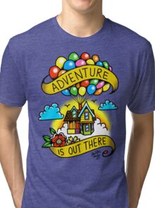Adventure is Out There! Tri-blend T-Shirt