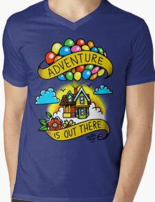 Adventure is Out There! Mens V-Neck T-Shirt