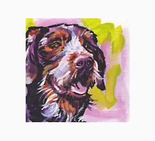 German Wirehaired Pointer Bright colorful pop dog art Unisex T-Shirt