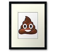Poop Framed Print