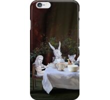 Alice in Wonderland/The Tea Party iPhone Case/Skin