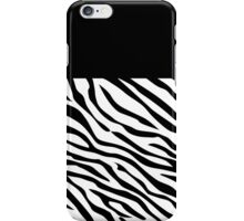 Zebra Fashion iPhone Case/Skin