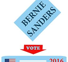 Bernie Sanders Vote 2016 by ozdilh