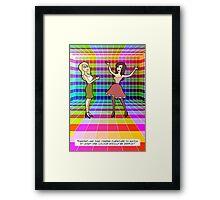 Colour Scheme Framed Print
