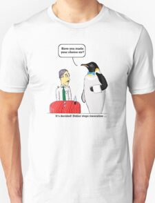 vision of penguin Unisex T-Shirt