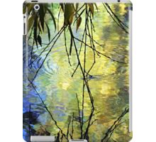 Blue Yellow Willow Water iPad Case/Skin