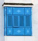 Sidi Bou Said Blue Window by Lucinda Walter