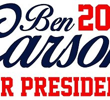 Ben Carson for President 2016  by ozdilh