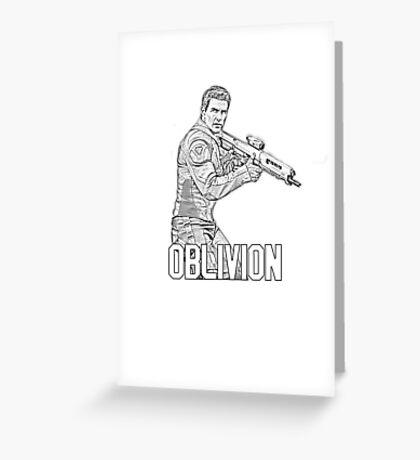 Oblivion Movie - Jack Harper Greeting Card