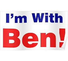 I'm With Ben Carson 2016 Poster