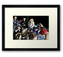 Get That Perfect Shot! Framed Print
