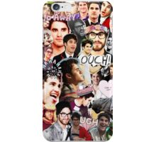Darren collage (iPhone and Samsung) iPhone Case/Skin