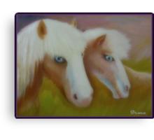 Blue Eye Brothers Canvas Print