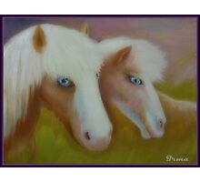 Blue Eye Brothers Photographic Print