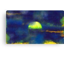 Moonrise Primitive Canvas Print