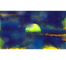 Moonrise Primitive Photographic Print