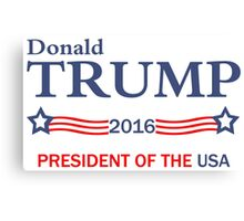 Donald Trump 2016 Election Gifts Canvas Print