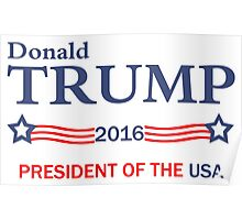 Donald Trump 2016 Election Gifts Poster