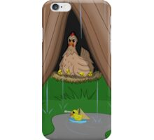 Poultry Piracy iPhone Case/Skin