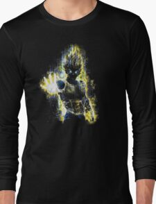 Epic Prince of Fighters Portrait Long Sleeve T-Shirt