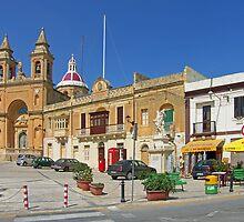 Marsaxlokk Square by Tom Gomez