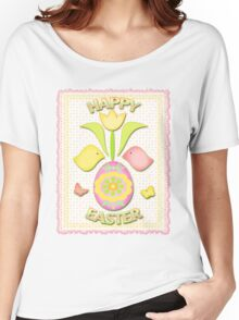 Happy Easter T-Shirt Women's Relaxed Fit T-Shirt