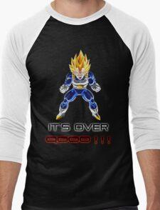 Vegeta IT'S OVER 9000 Men's Baseball ¾ T-Shirt