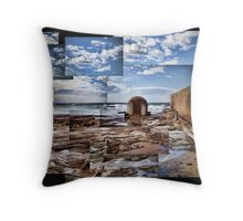 Newcastle Pump House Throw Pillow