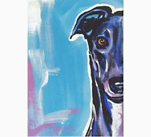Greyhound Dog Bright colorful pop dog art Unisex T-Shirt