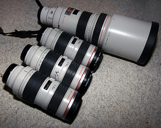 We like Canon, alot. by Erik Anderson