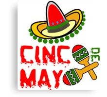 Cinco De Mayo Canvas Print