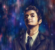 Tenth Doctor by sorceressink