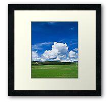 Landscape / Cloudscape Framed Print