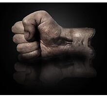 The fist Photographic Print