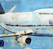 Jumbo jet, Indian Air Force Weathered Sticker