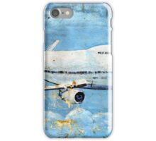 Jumbo jet, Indian Air Force Weathered iPhone Case/Skin