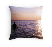 And so the day ends... Throw Pillow