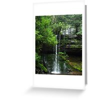 Russell Falls - Mt Field National Park Greeting Card
