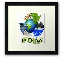 Earth Day 1 Framed Print
