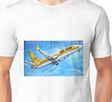 HLX Yellow Passenger Jet Laptop Cover Unisex T-Shirt