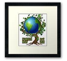 Earth Day 2 Framed Print