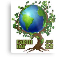 Earth Day 2 Metal Print