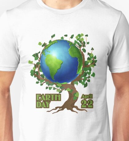 Earth Day 2 Unisex T-Shirt