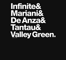 Apple Digs Infinite Loop & Tantau Ave Ampersand Helvetica Getup Unisex T-Shirt