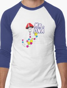 The real Mr.DNA Men's Baseball ¾ T-Shirt