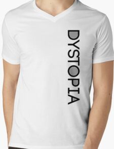Dystopia Mens V-Neck T-Shirt