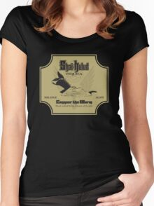 Conquer the Worm Women's Fitted Scoop T-Shirt