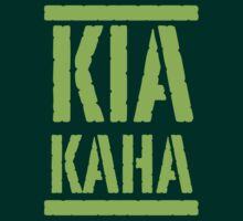 KIA KAHA (STAY STRONG in MAORI language) by jazzydevil