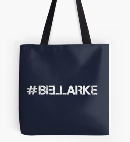 #BELLARKE (White Text) Tote Bag