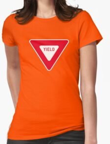 Yield Womens Fitted T-Shirt